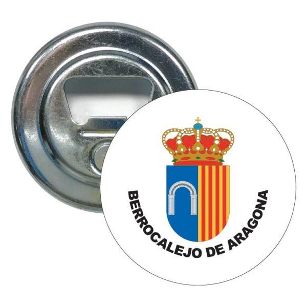 abridor redondo escudo heraldico berrocalejo de aragona