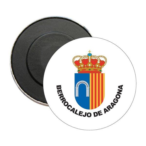 iman redondo escudo heraldico berrocalejo de aragona