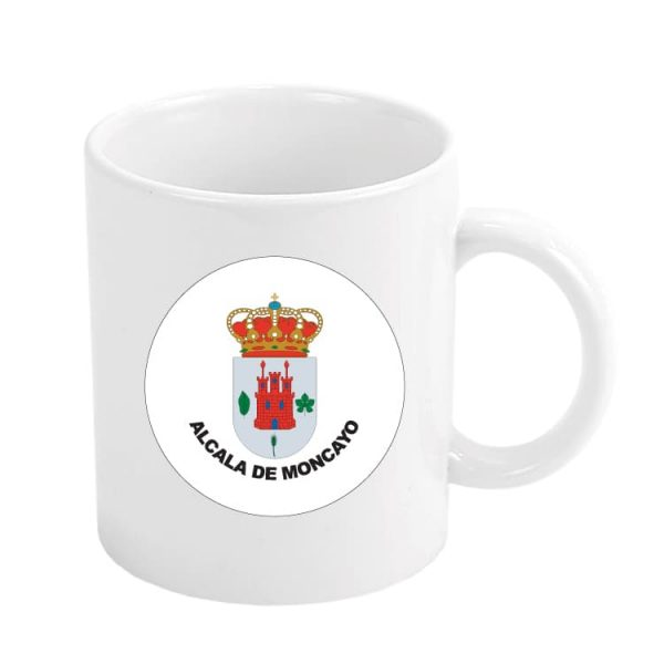 taza escudo heraldico alcala de moncayo