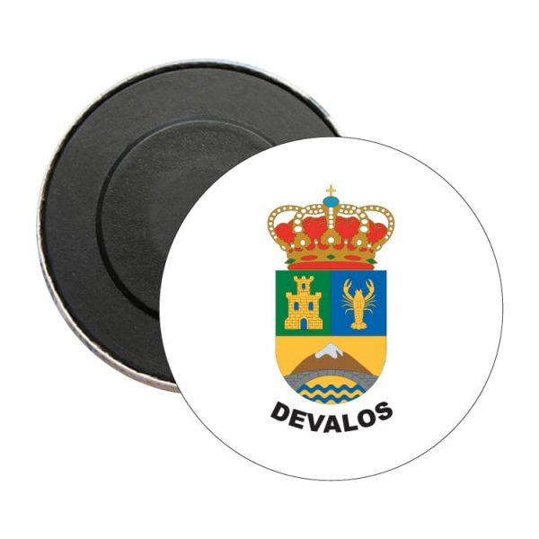 iman redondo escudo heraldico devalos