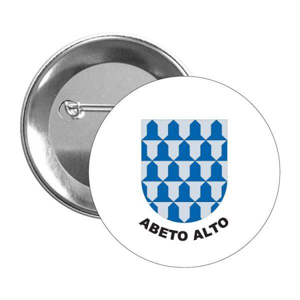 chapa escudo heraldico abeto alto