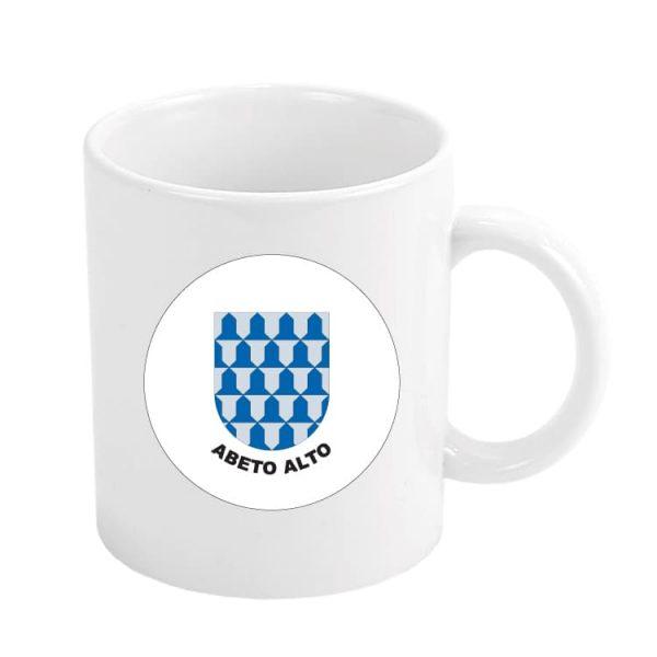 taza escudo heraldico abeto alto