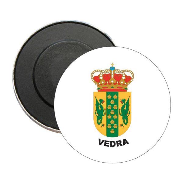 iman redondo escudo heraldico vedra