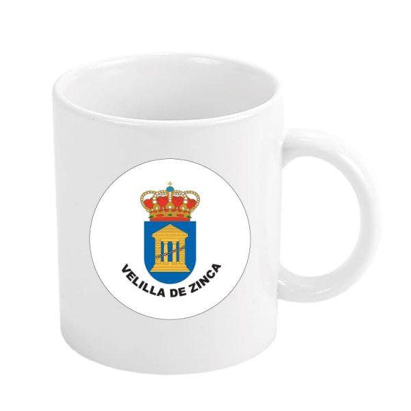 taza escudo heraldico velilla de zinca