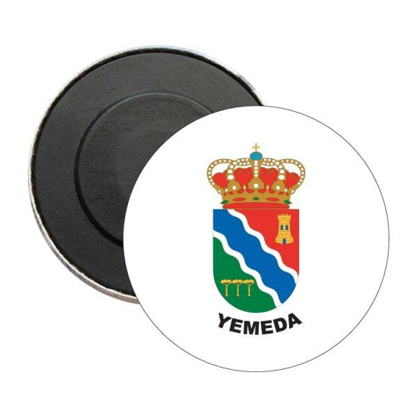 iman redondo escudo heraldico yemeda