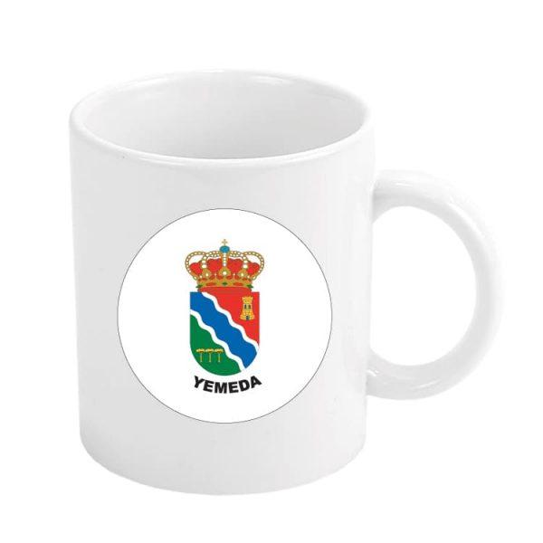 taza escudo heraldico yemeda
