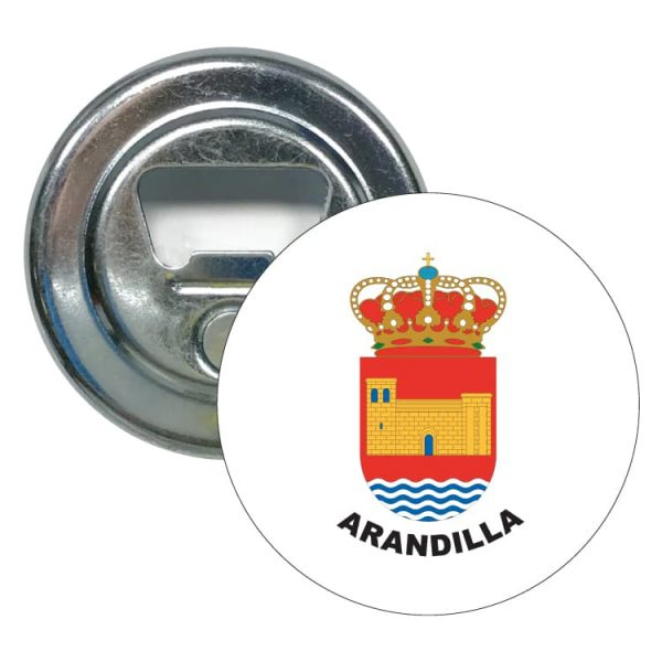 abridor redondo escudo heraldico arandilla
