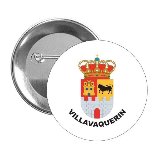1296 chapa escudo heraldico villavaquerin