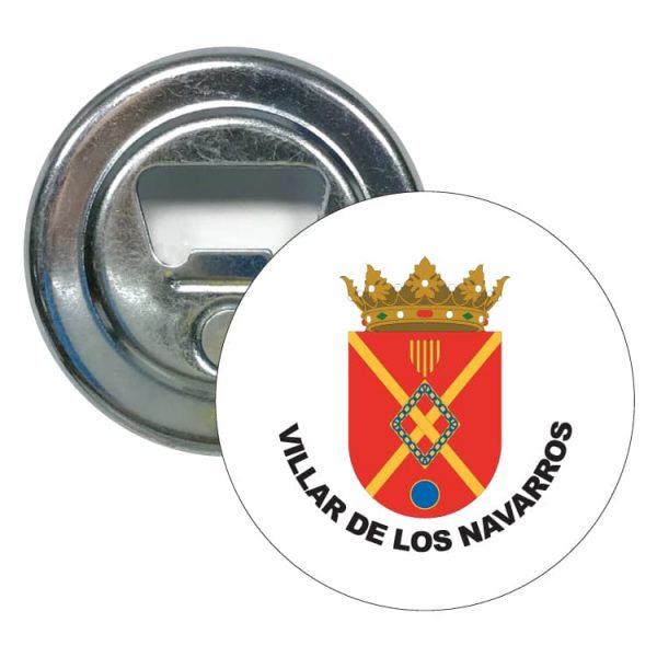 abridor redondo escudo heraldico villar de los navarros