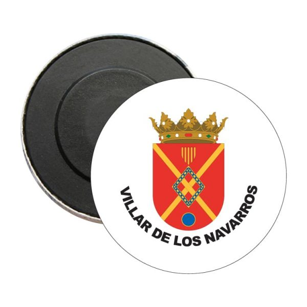 iman redondo escudo heraldico villar de los navarros