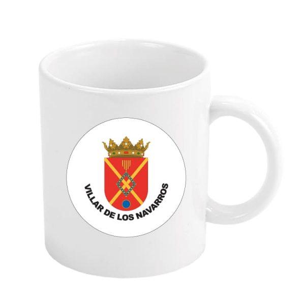 taza escudo heraldico villar de los navarros
