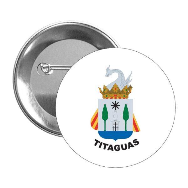 chapa escudo heraldico titaguas