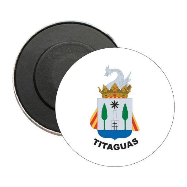 iman redondo escudo heraldico titaguas