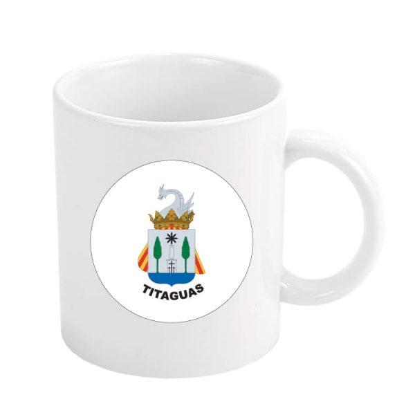 taza escudo heraldico titaguas