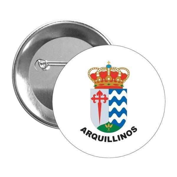 1306 chapa escudo heraldico arquillinos