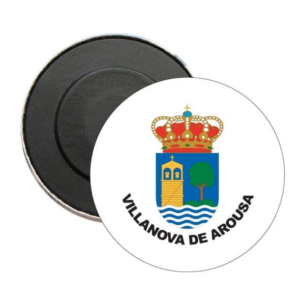 iman redondo escudo heraldico villanova de arousa