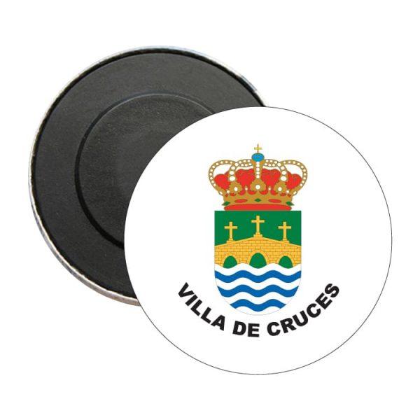iman redondo escudo heraldico villa de cruces