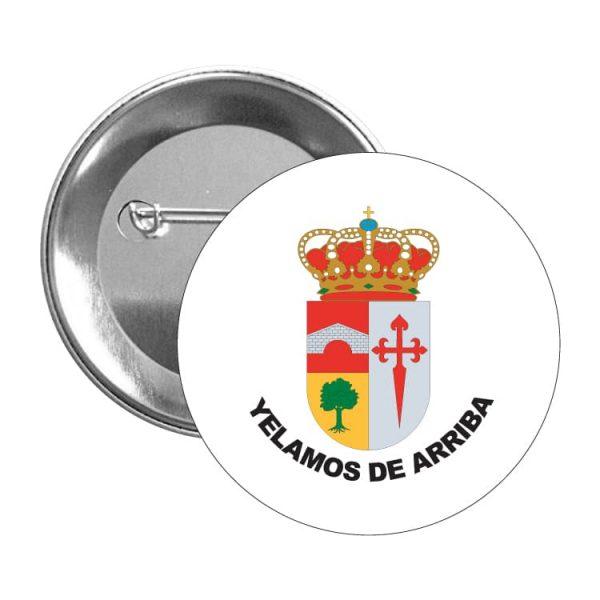 chapa escudo heraldico yelamos de arriba
