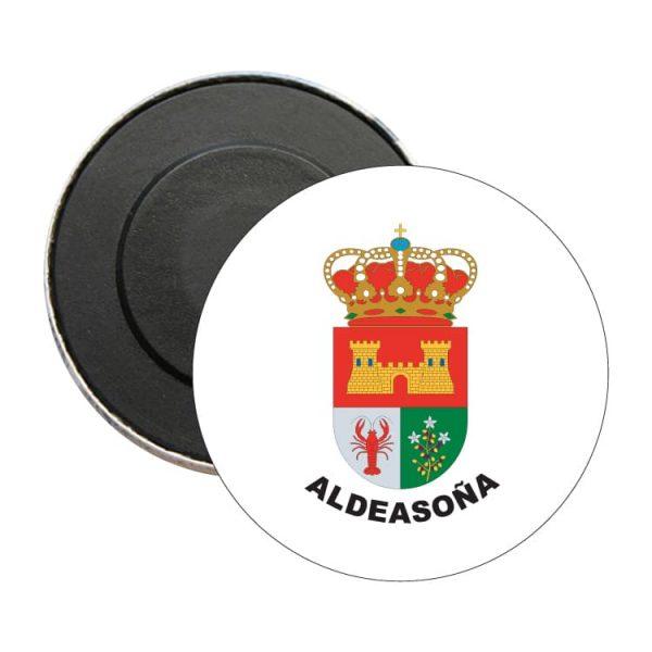 iman redondo escudo heraldico aldeasoña