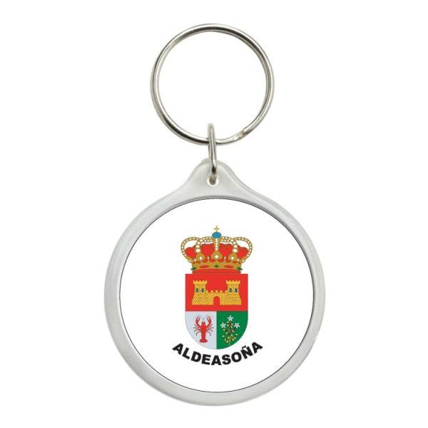 llavero redondo escudo heraldico aldeasoña