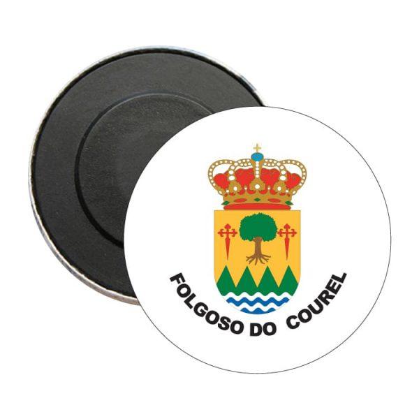 iman redondo escudo heraldico folgoso do courel