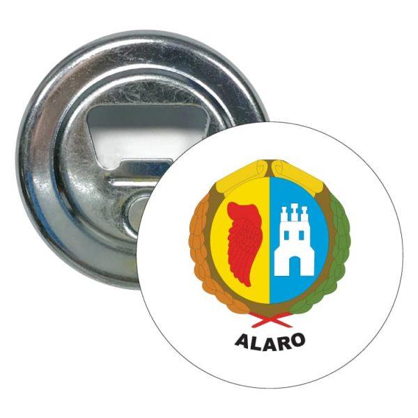abridor redondo escudo heraldico alaro