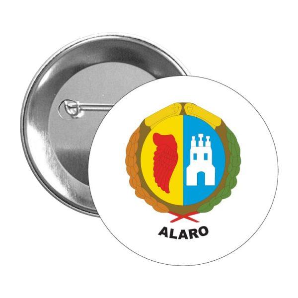 chapa escudo heraldico alaro