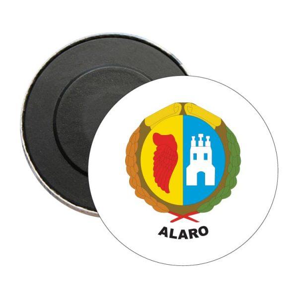 iman redondo escudo heraldico alaro