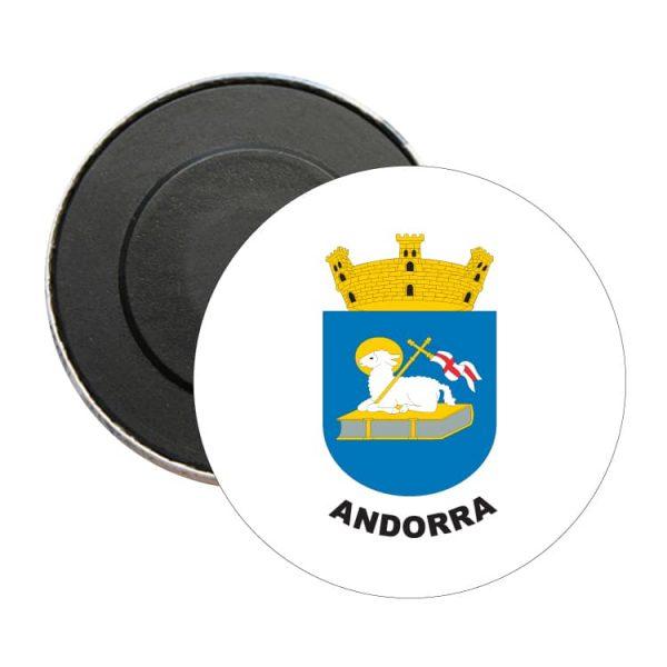 iman redondo escudo heraldico andorra