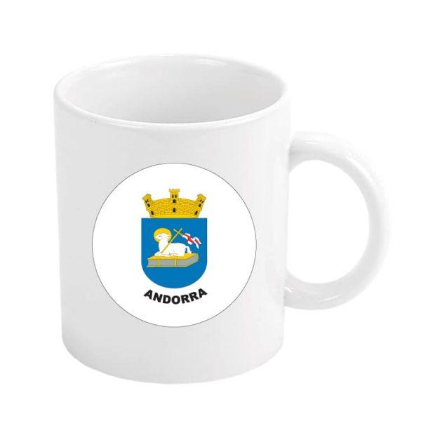 taza escudo heraldico andorra