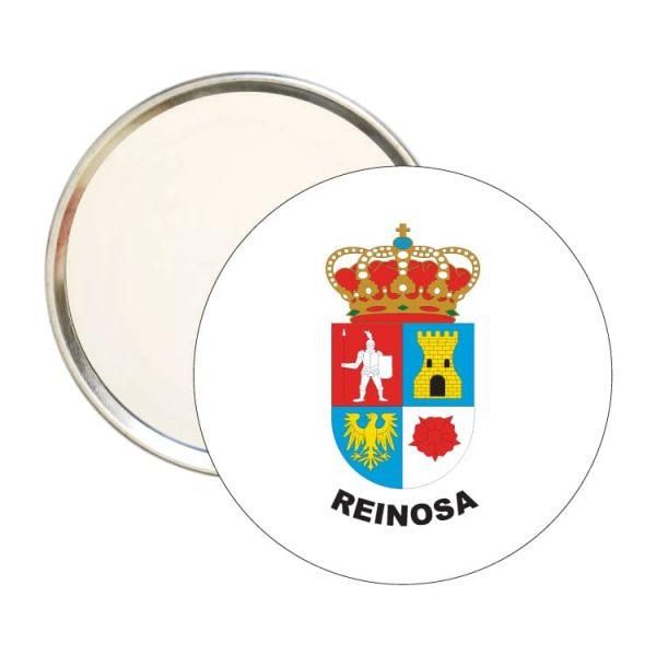 espejo redondo escudo heraldico reinosa