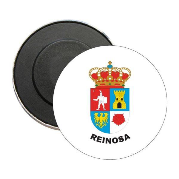 iman redondo escudo heraldico reinosa