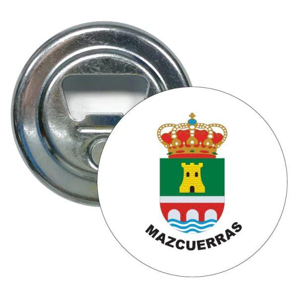 abridor redondo escudo heraldico mazcuerras