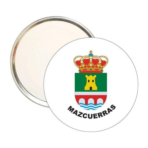 espejo redondo escudo heraldico mazcuerras