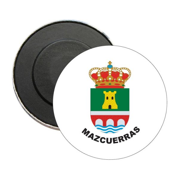 iman redondo escudo heraldico mazcuerras