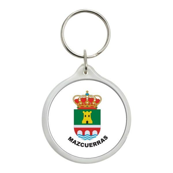 llavero redondo escudo heraldico mazcuerras