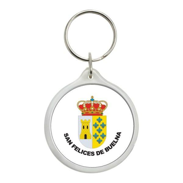llavero redondo escudo heraldico san felices de buelna