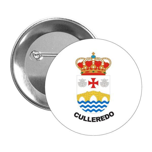 chapa escudo heraldico culelredo