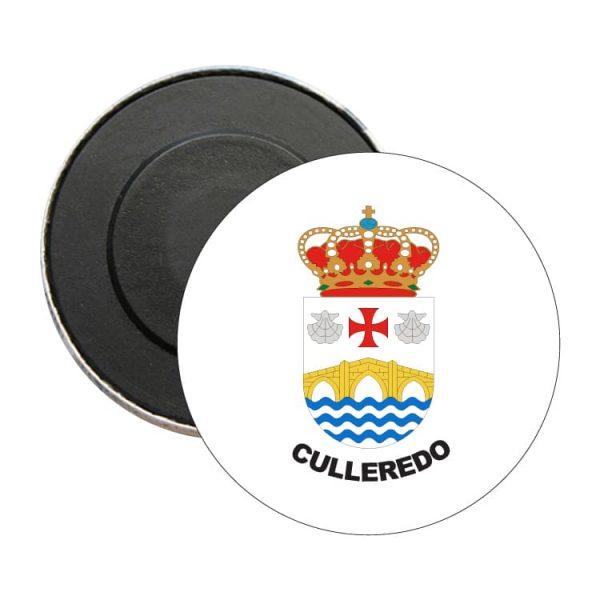 iman redondo escudo heraldico culelredo