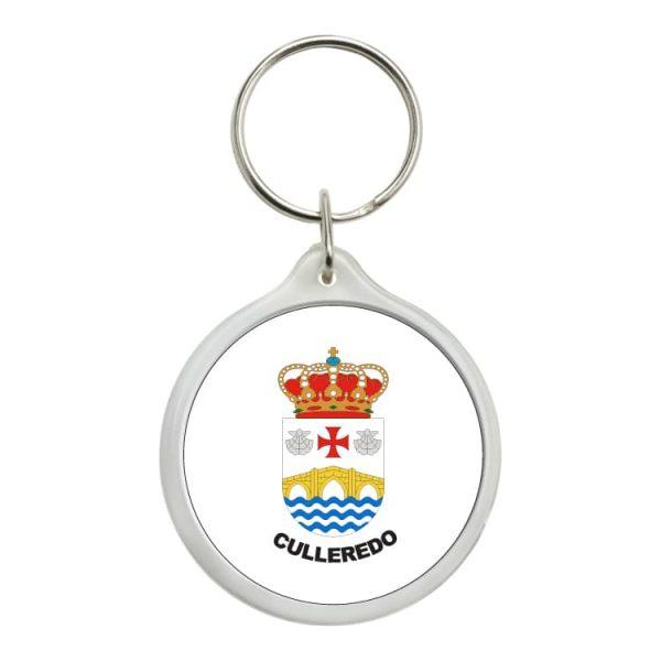llavero redondo escudo heraldico culelredo