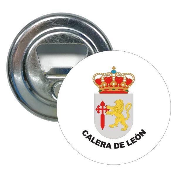 abridor redondo escudo heraldico calera de leon