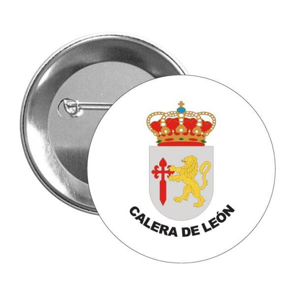 chapa escudo heraldico calera de leon