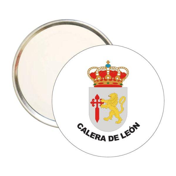 espejo redondo escudo heraldico calera de leon