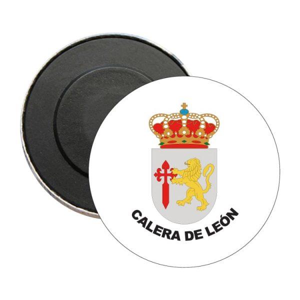 iman redondo escudo heraldico calera de leon