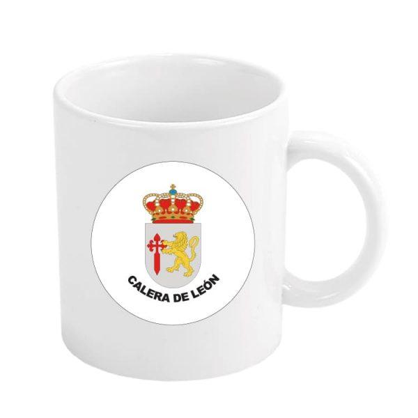 taza escudo heraldico calera de leon
