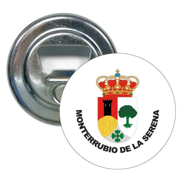 abridor redondo escudo heraldico monterrubio de la serena