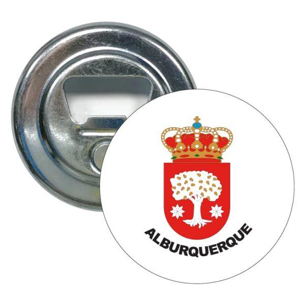 abridor redondo escudo heraldico alburquerque