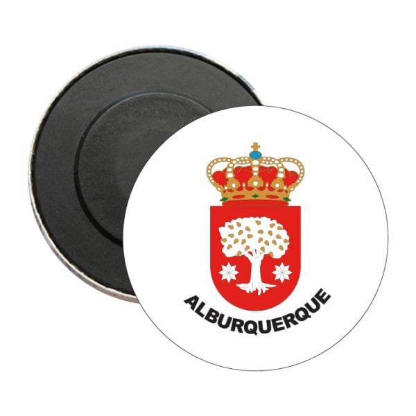 iman redondo escudo heraldico alburquerque