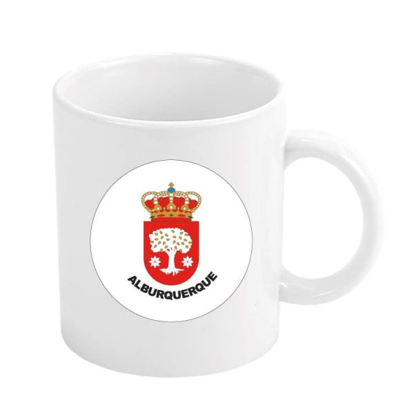 1372 taza escudo heraldico alburquerque