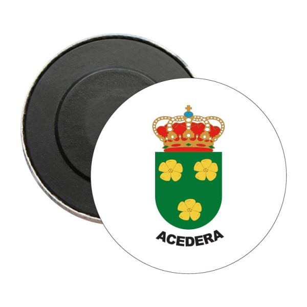 iman redondo escudo heraldico acedera